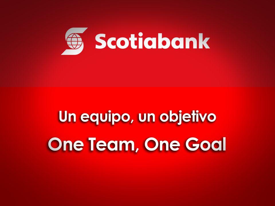 Finalizó la etapa de integración y por tanto el fin de Construimos juntos , el nuevo concepto debíamos buscarlo en el propio Scotiabank: Un equipo… un objetivo.