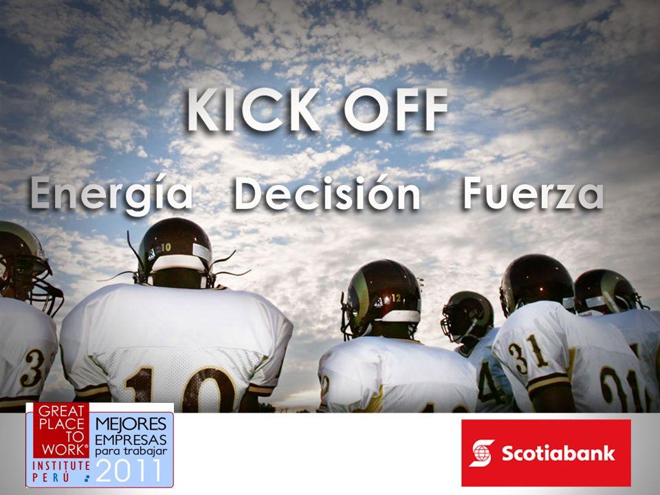 El Kick off es un término que proviene del mundo del deporte y que en inglés significa coloquialmente comenzar pero comenzar con una connotación de energía, decisión, fuerza.