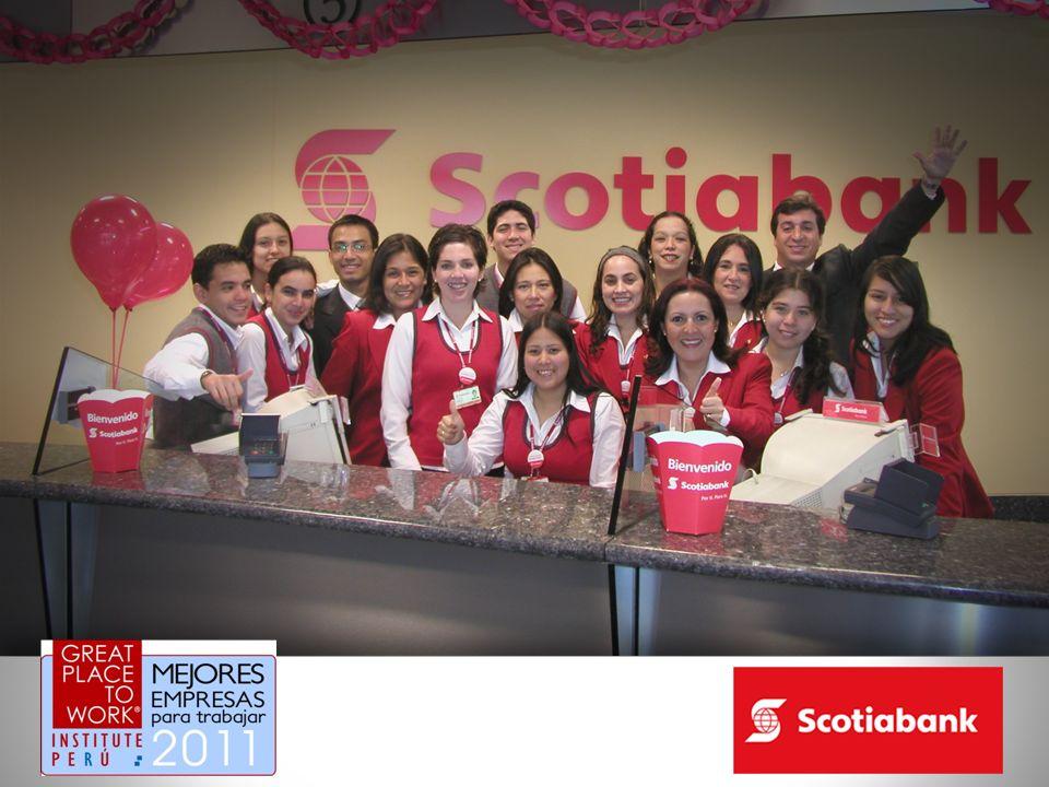 En Scotiabank hacemos Kick offs por lo menos una vez a la semana en cada agencia u oficina.