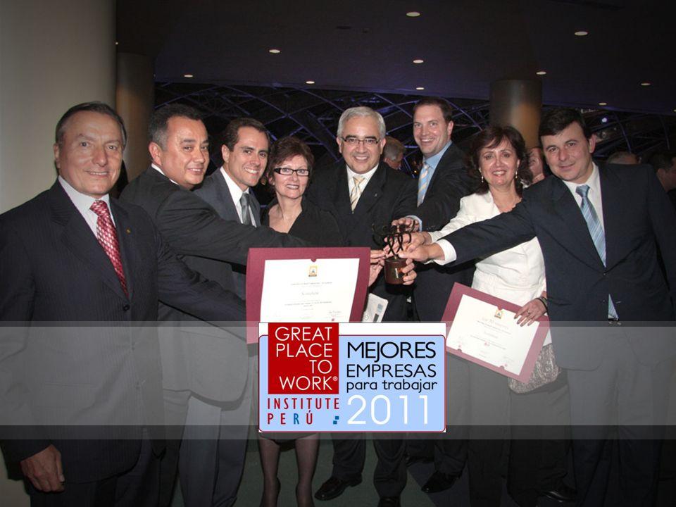 Han pasado 4 años desde ese momento y hoy nos contamos con orgullo entre las 30 empresas que en el Perú son Great Place to Work 2009; participamos por primera vez, el año 2008, siendo reconocidos como gran empresa con más de 700 colaboradores y 2/3 de ellos satisfechos.