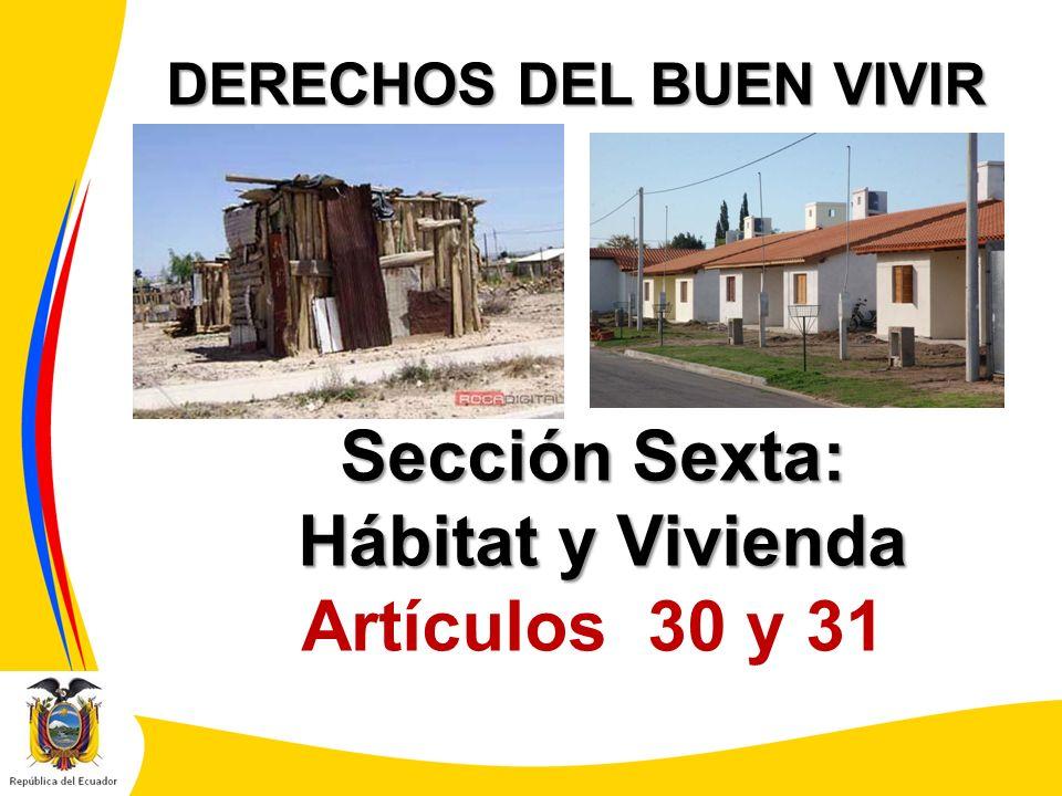 DERECHOS DEL BUEN VIVIR