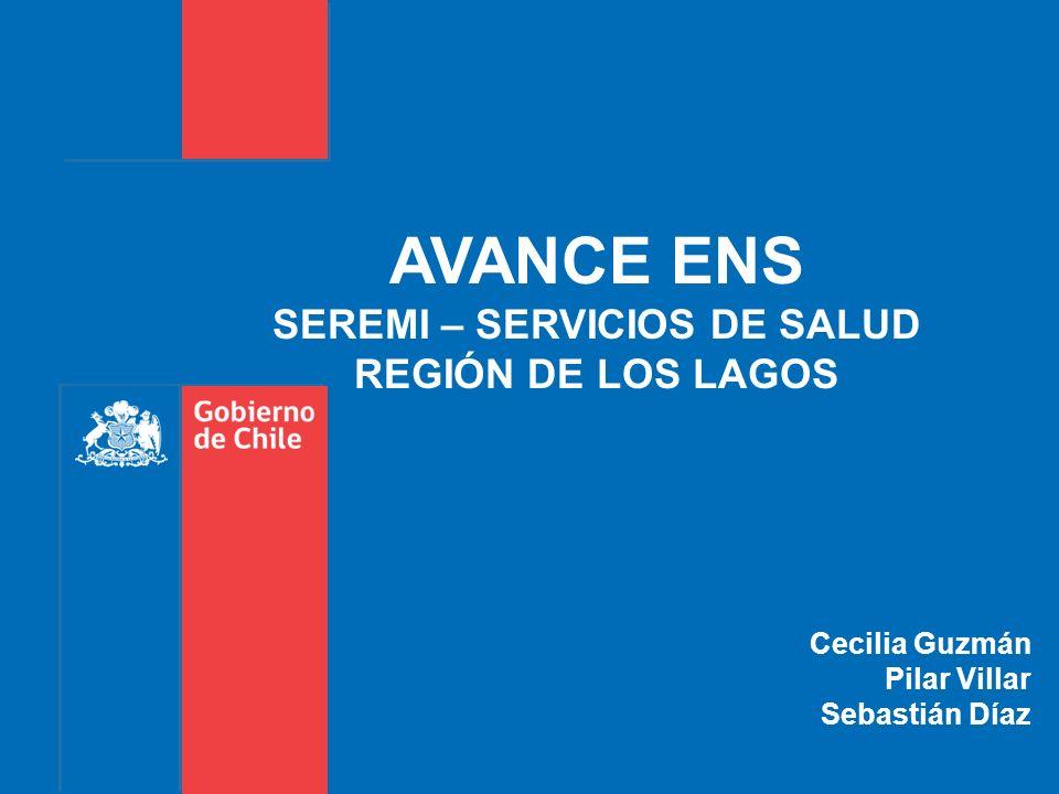 AVANCE ENS SEREMI – SERVICIOS DE SALUD