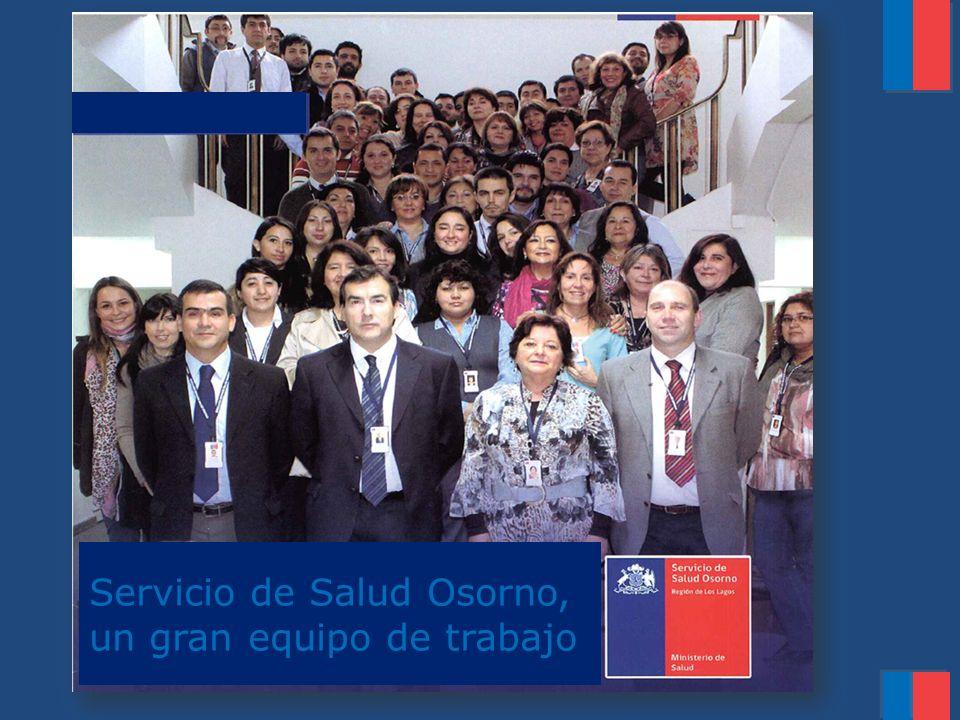 Servicio de Salud Osorno, un gran equipo de trabajo