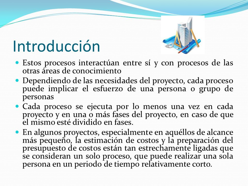 Introducción Estos procesos interactúan entre sí y con procesos de las otras áreas de conocimiento.