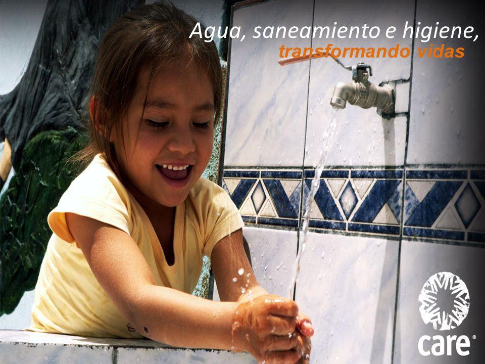 Agua, saneamiento e higiene,