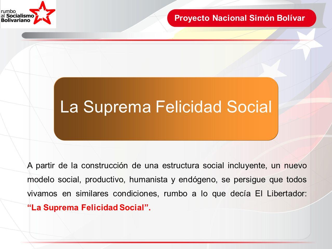 La Suprema Felicidad Social