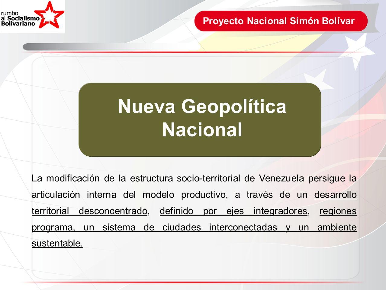 Nueva Geopolítica Nacional