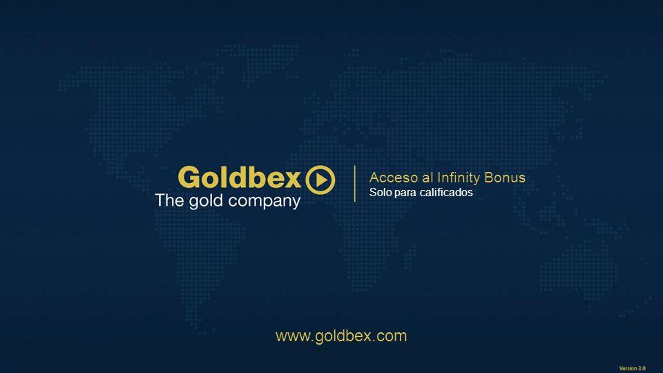 Acceso al Infinity Bonus