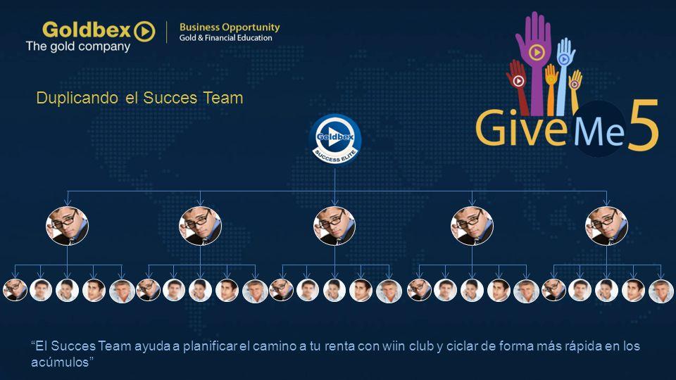 Duplicando el Succes Team