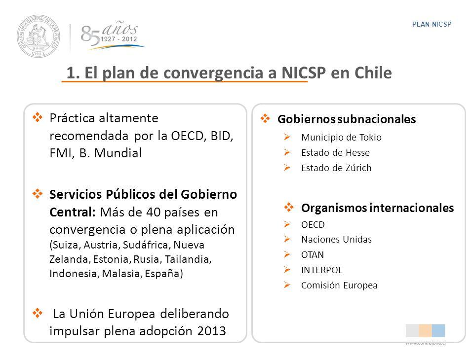 1. El plan de convergencia a NICSP en Chile