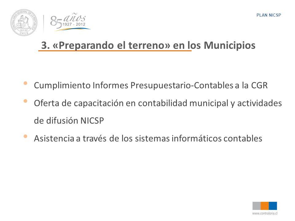 3. «Preparando el terreno» en los Municipios