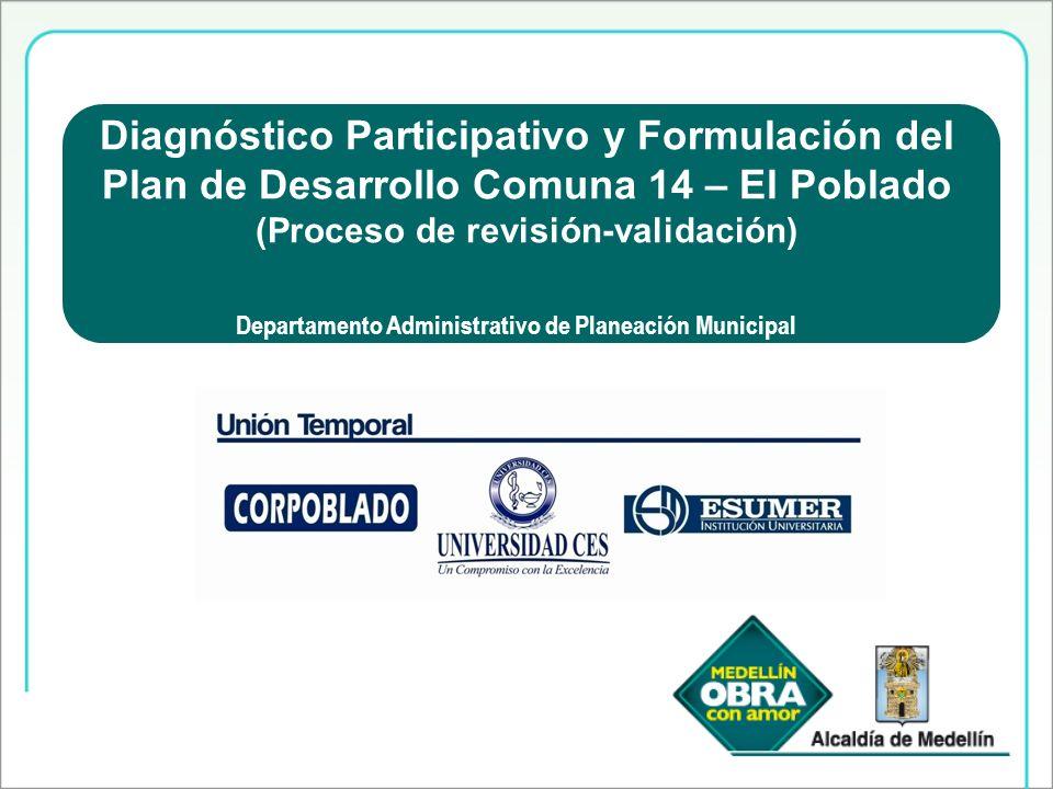 Diagnóstico Participativo y Formulación del