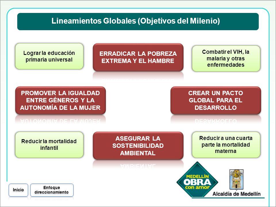 Lineamientos Globales (Objetivos del Milenio)