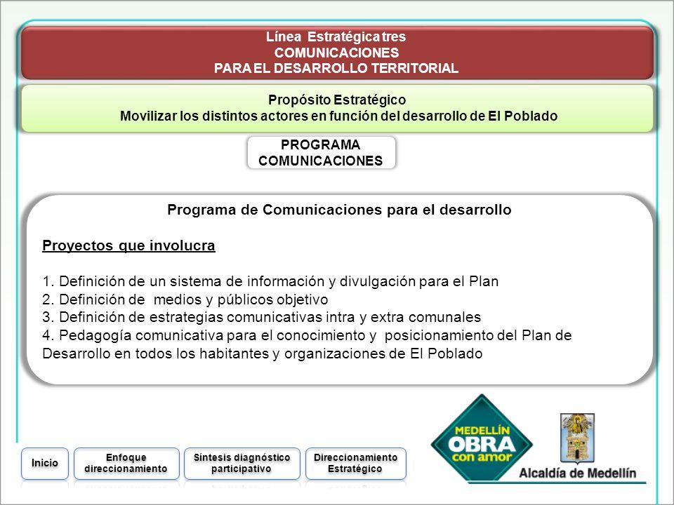 Programa de Comunicaciones para el desarrollo