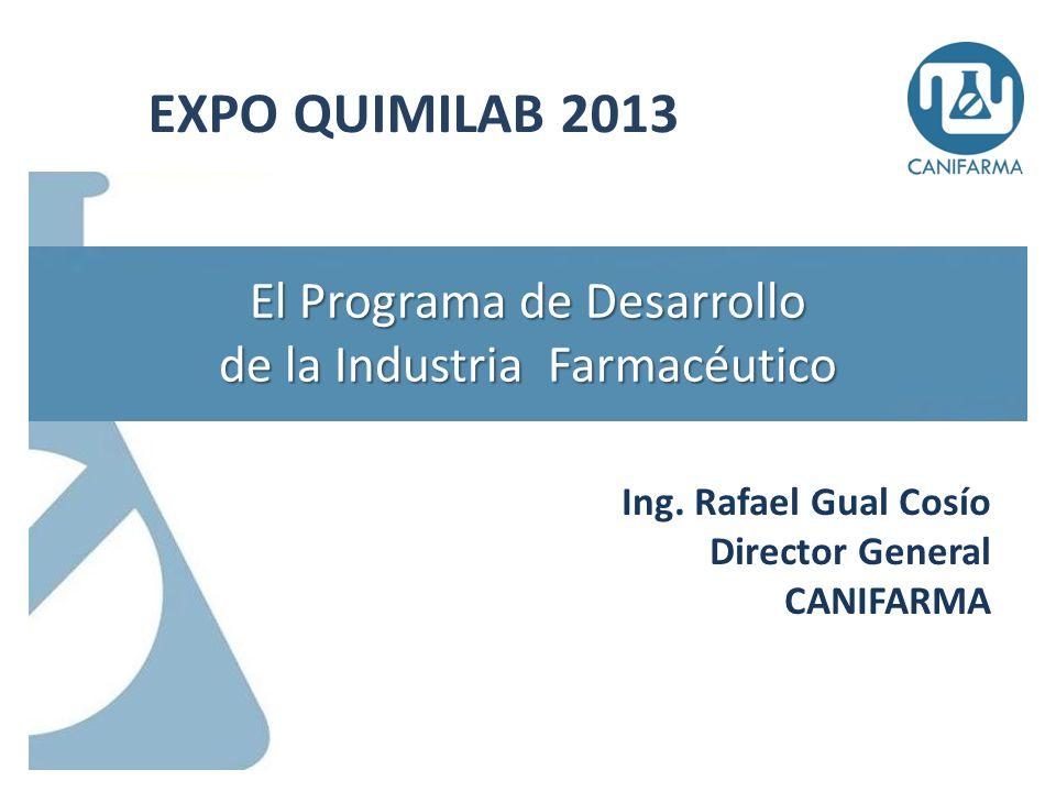 El Programa de Desarrollo de la Industria Farmacéutico