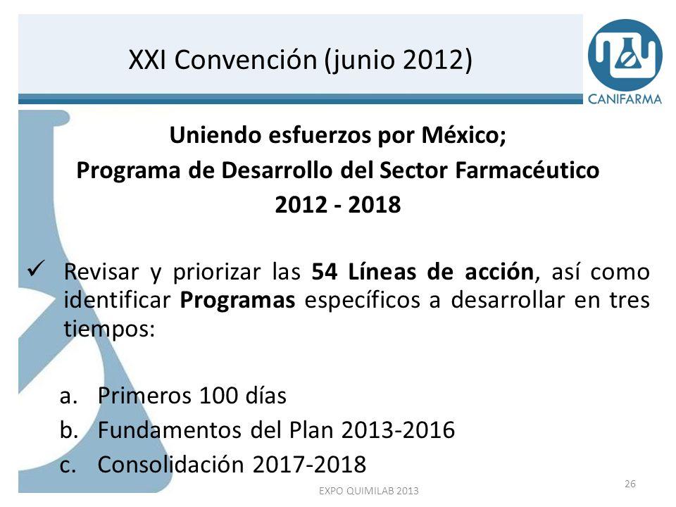 XXI Convención (junio 2012)