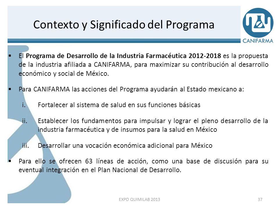 Contexto y Significado del Programa