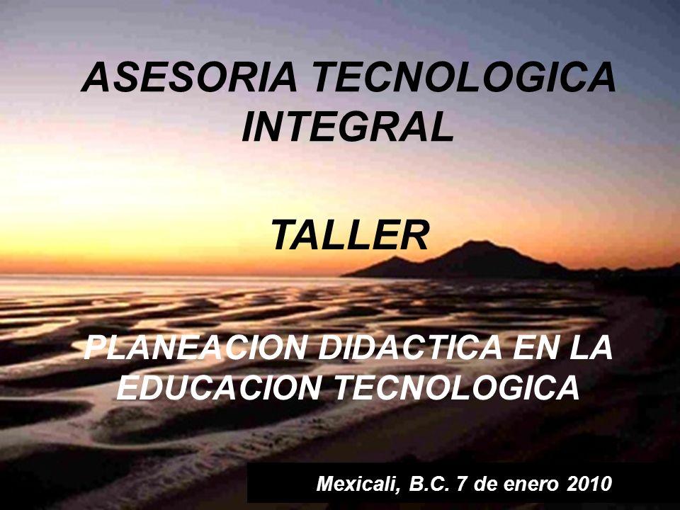 ASESORIA TECNOLOGICA INTEGRAL TALLER