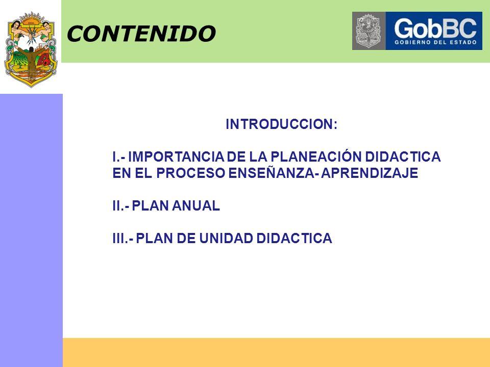 CONTENIDO INTRODUCCION: