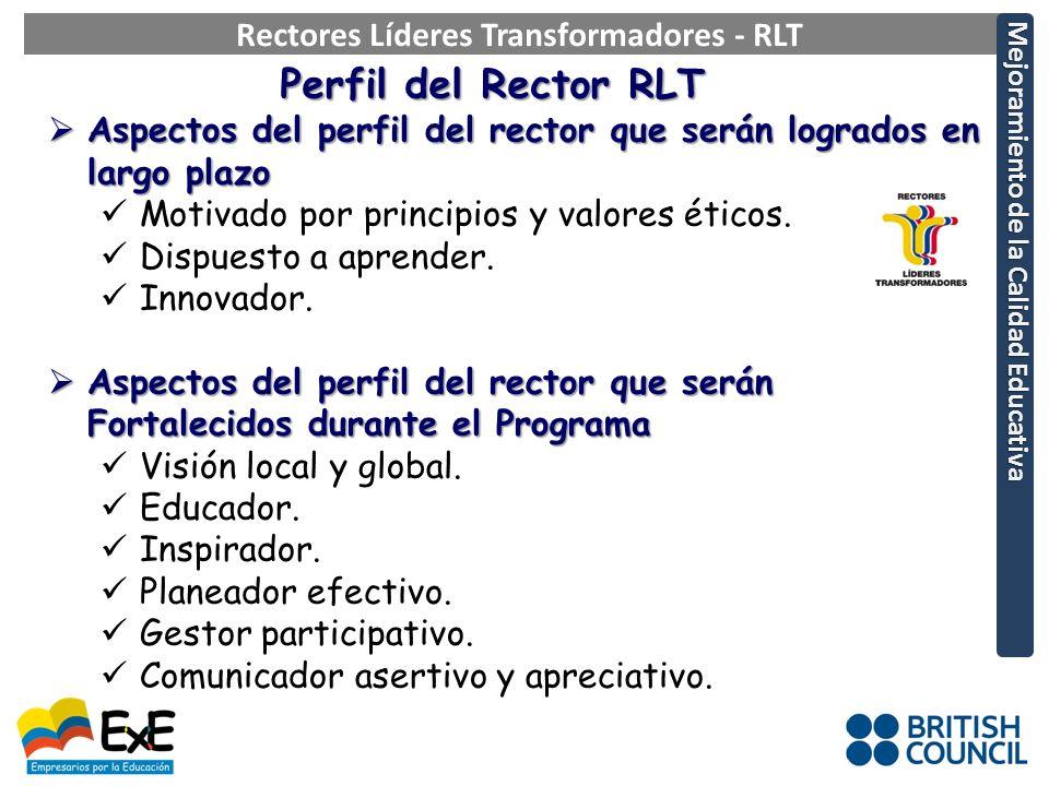 Rectores Líderes Transformadores - RLT