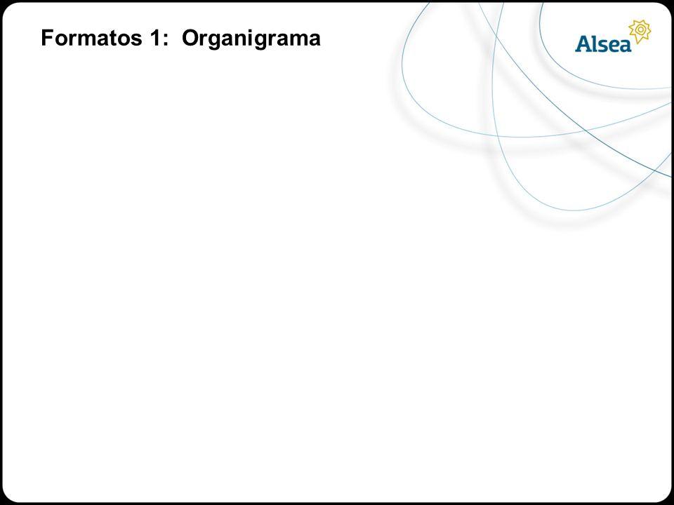 Formatos 1: Organigrama