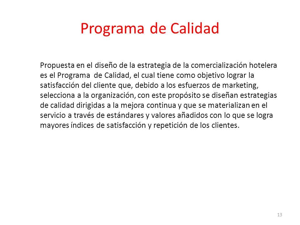 Programa de Calidad