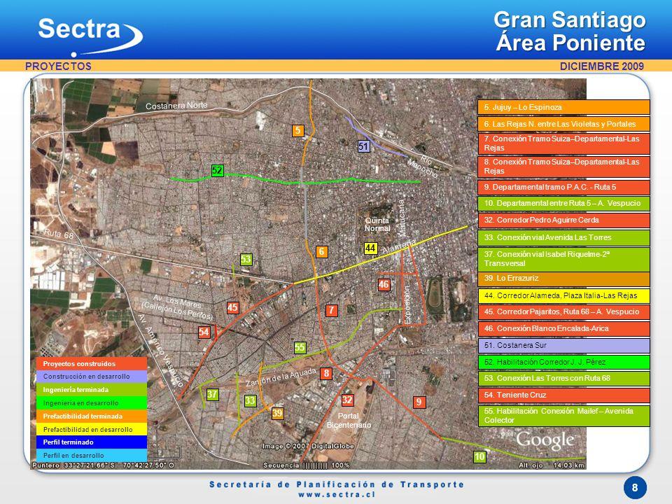 Proyectos Gran Santiago