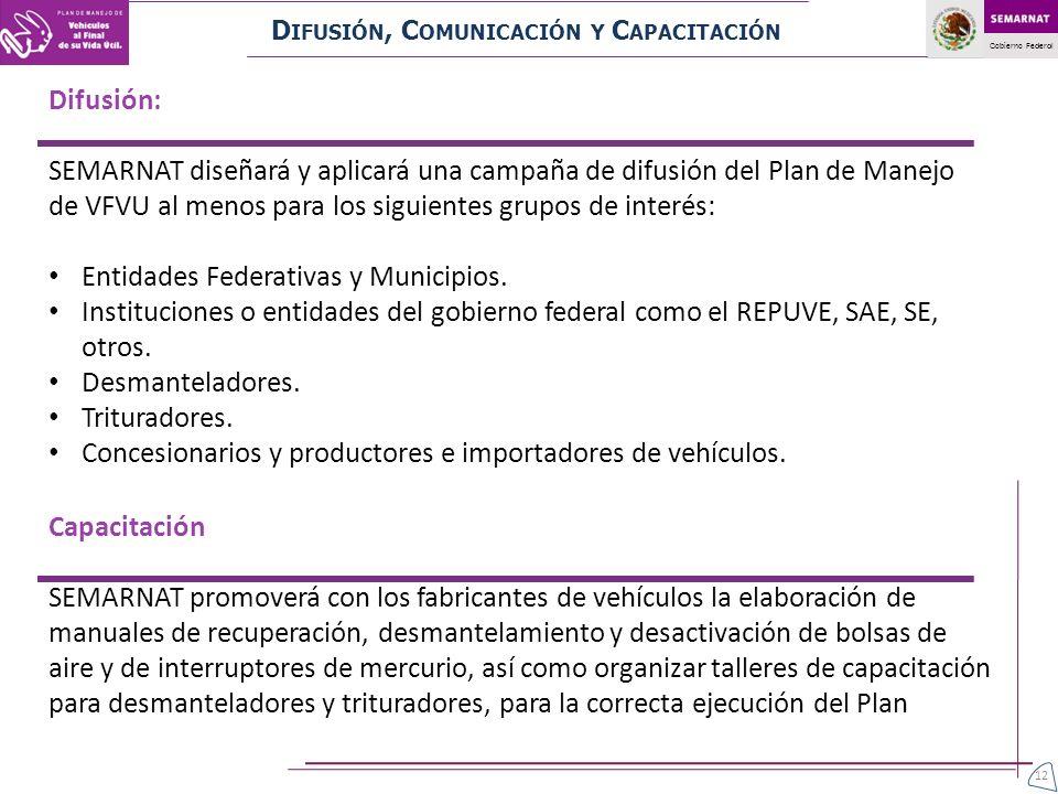 Entidades Federativas y Municipios.