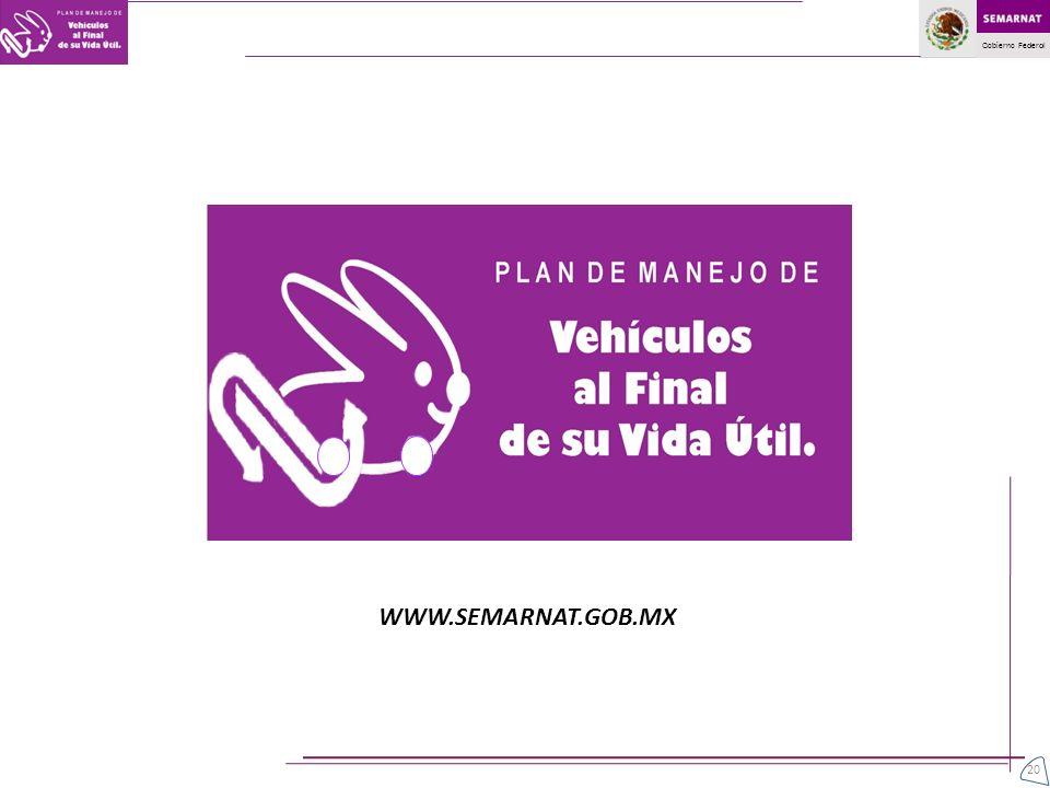 WWW.SEMARNAT.GOB.MX 20