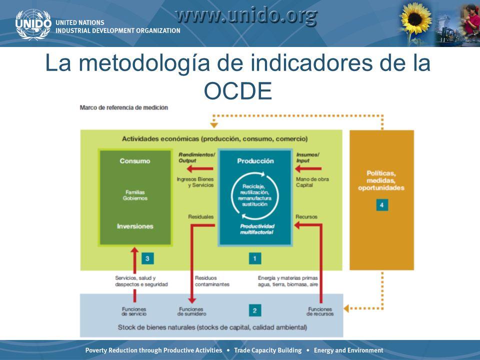 La metodología de indicadores de la OCDE