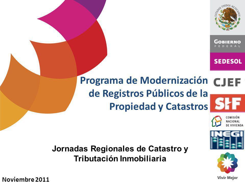 Jornadas Regionales de Catastro y Tributación Inmobiliaria