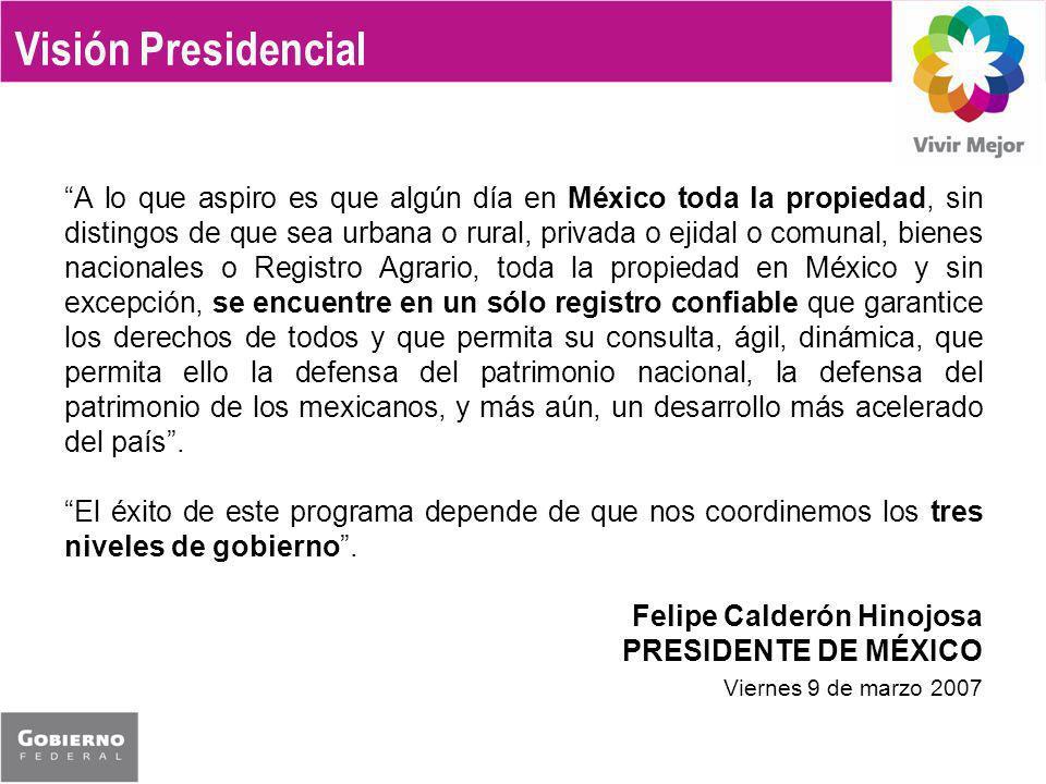 Visión Presidencial