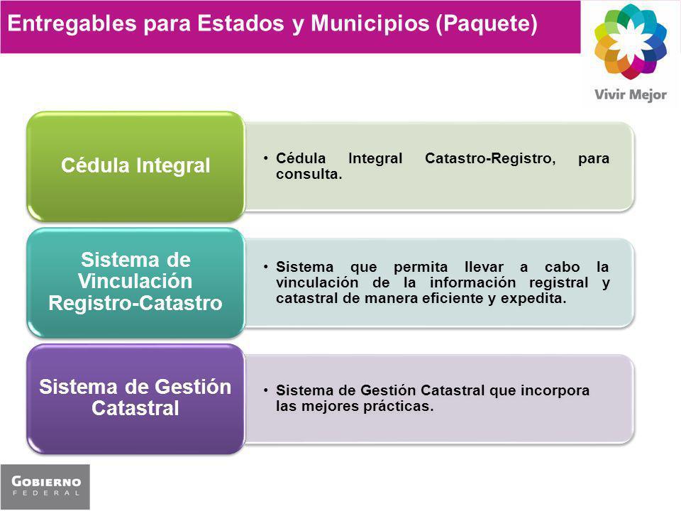Sistema de Vinculación Registro-Catastro Sistema de Gestión Catastral