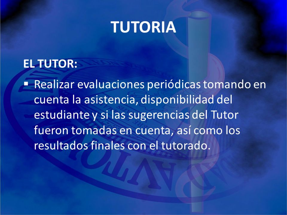 TUTORIA EL TUTOR: