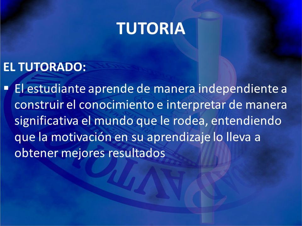 TUTORIA EL TUTORADO: