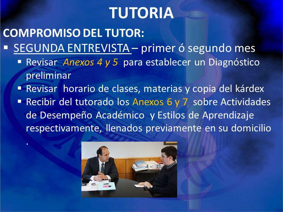 TUTORIA COMPROMISO DEL TUTOR: