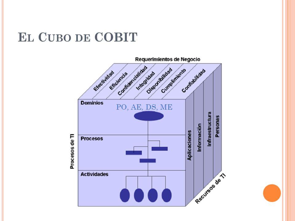 El Cubo de COBIT PO, AE, DS, ME