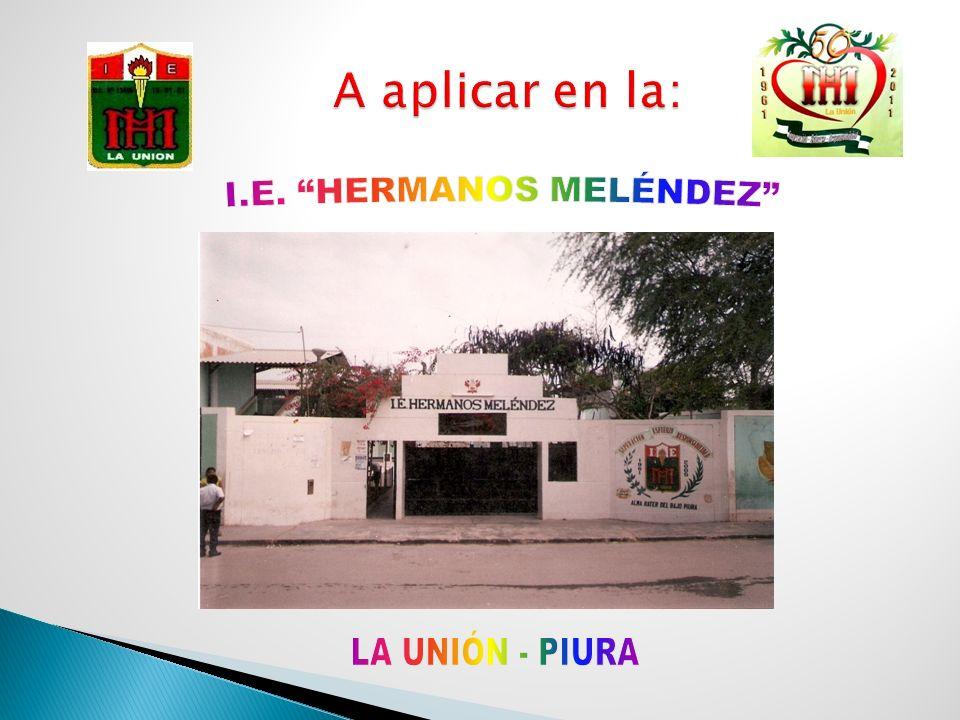 I.E. HERMANOS MELÉNDEZ