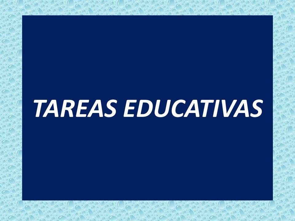 TAREAS EDUCATIVAS
