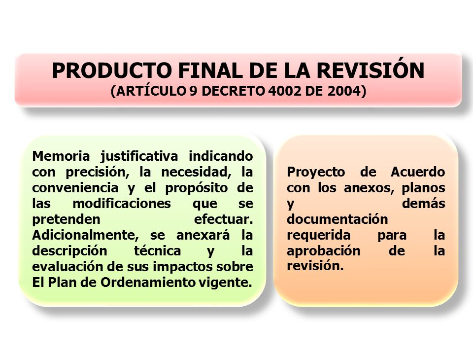 PRODUCTO FINAL DE LA REVISIÓN