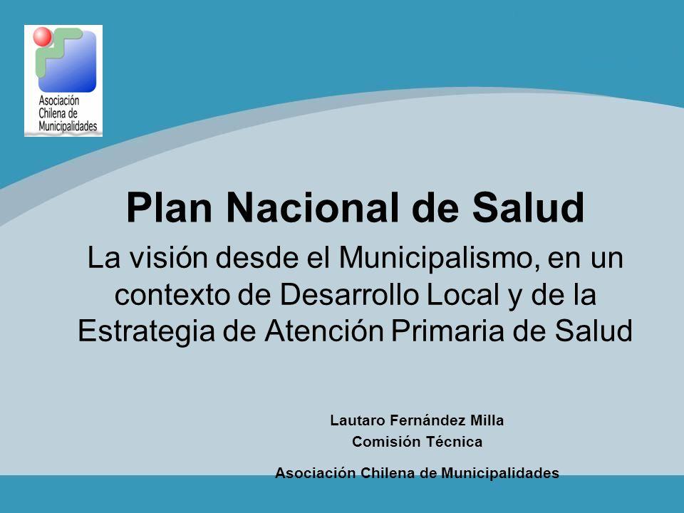 Lautaro Fernández Milla Asociación Chilena de Municipalidades