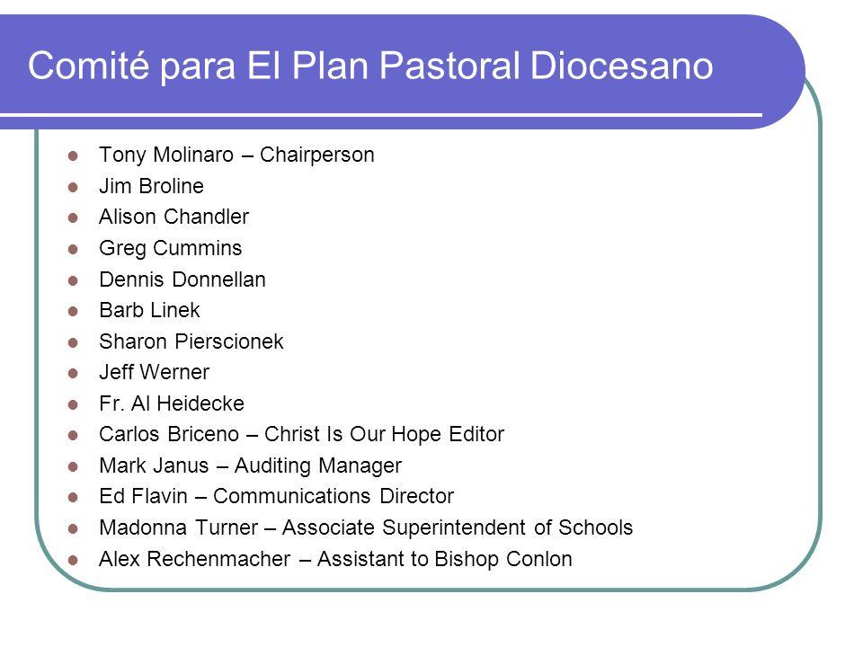 Comité para El Plan Pastoral Diocesano