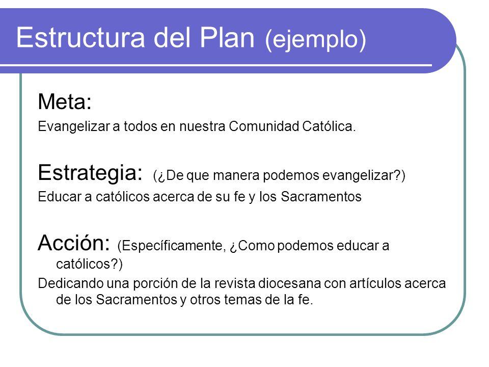 Estructura del Plan (ejemplo)