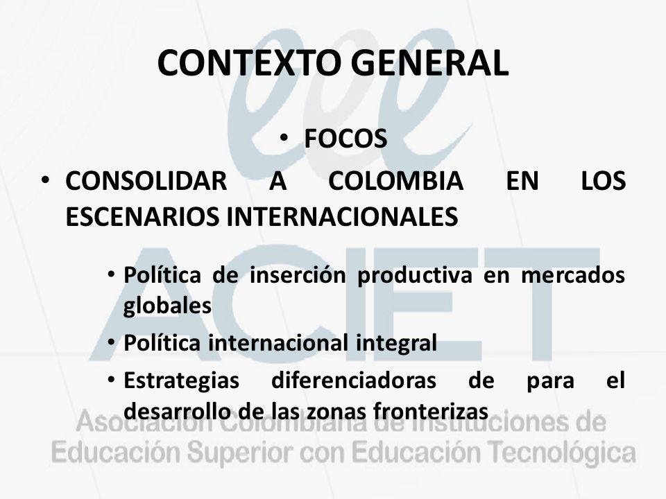 CONTEXTO GENERAL FOCOS