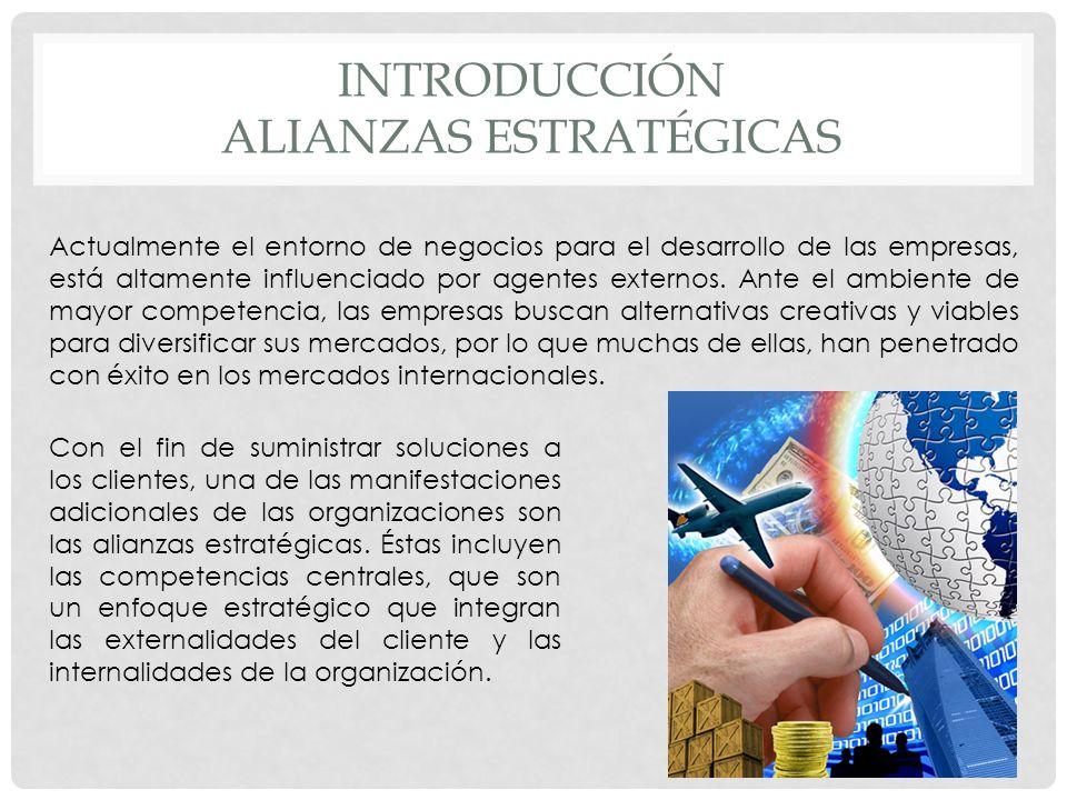 Introducción Alianzas estratégicas