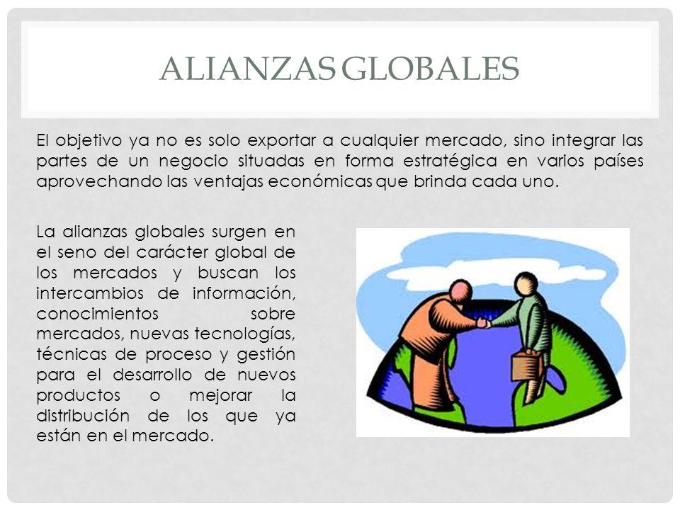 Alianzas globales