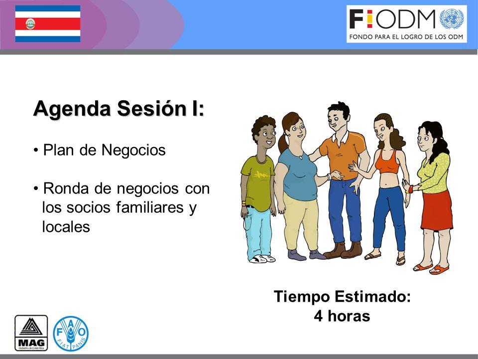Agenda Sesión I: Plan de Negocios Ronda de negocios con