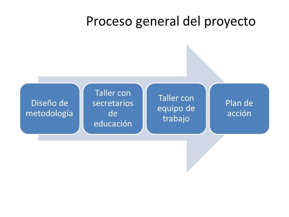 Proceso general del proyecto