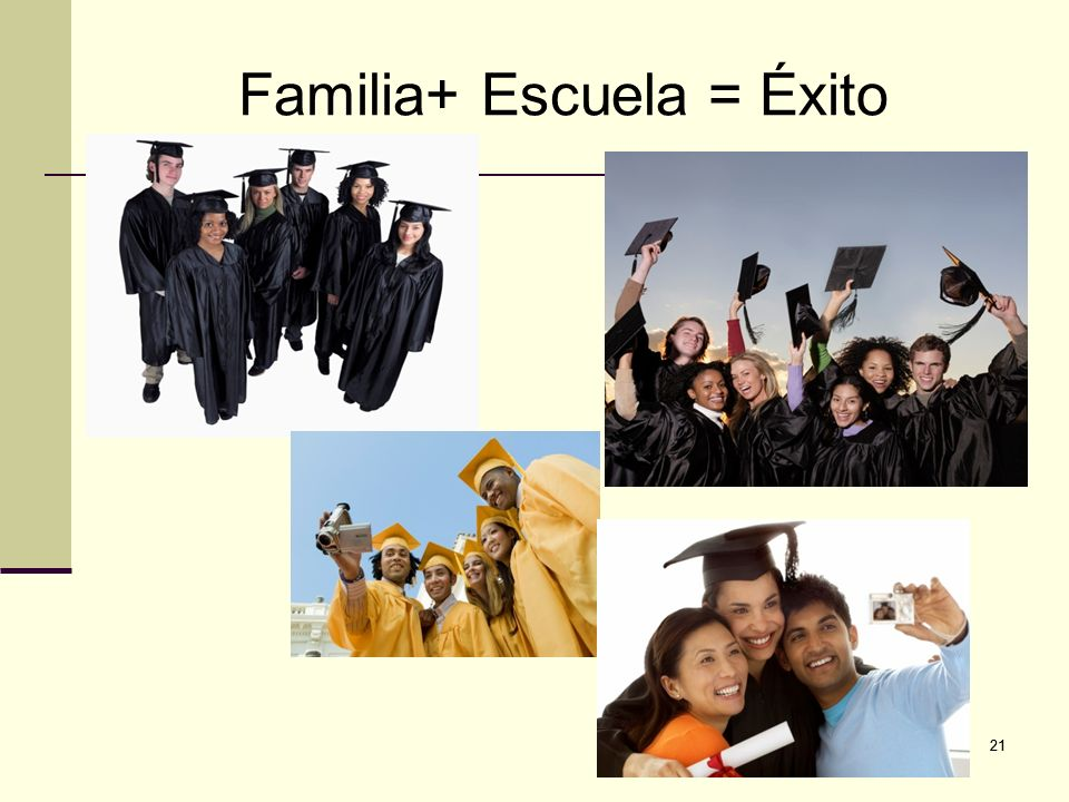 Familia+ Escuela = éxito