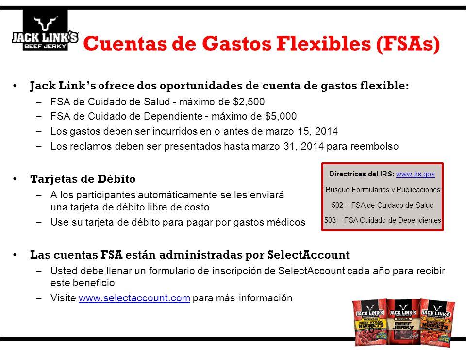 Cuentas de Gastos Flexibles (FSAs)